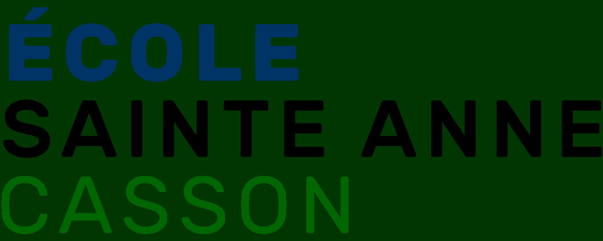 École Sainte Anne - Casson
