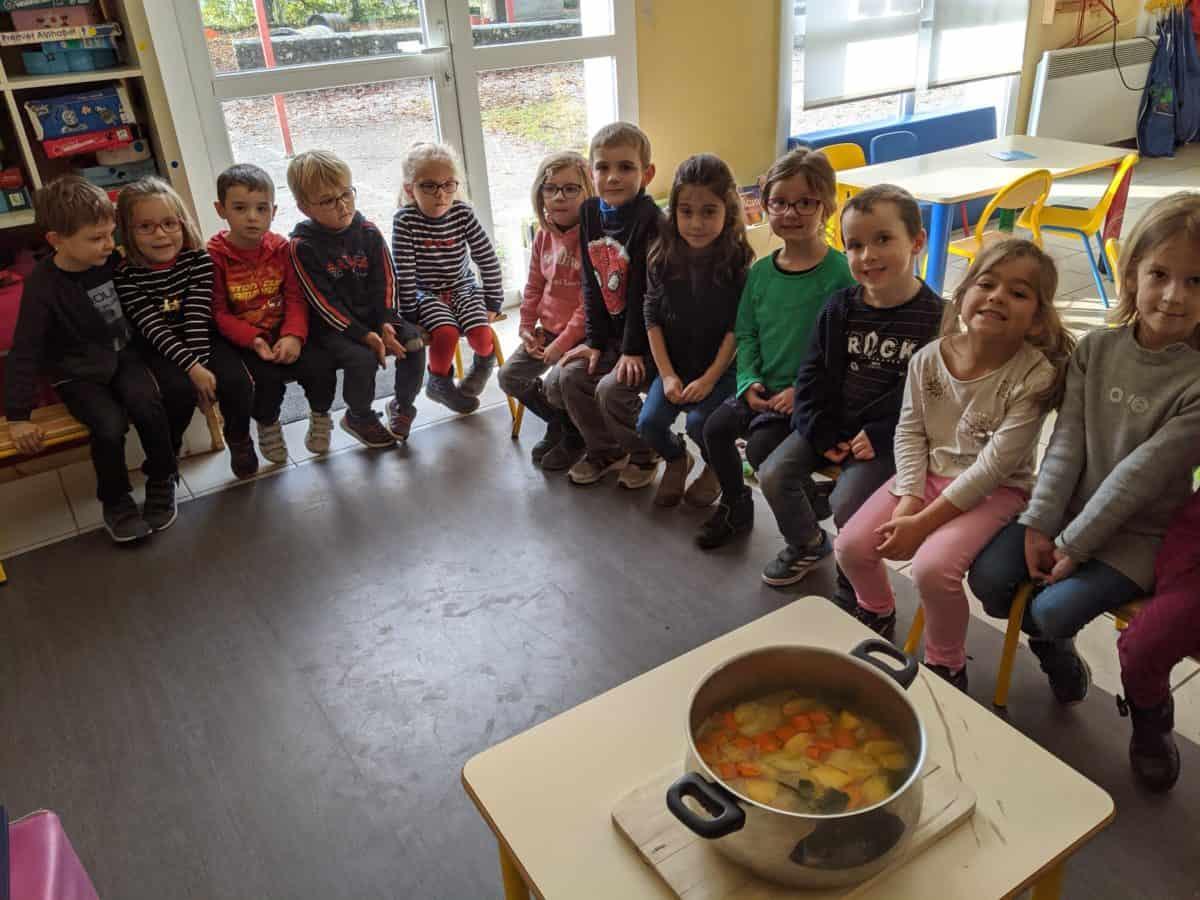 La soupe aux légumes des GS