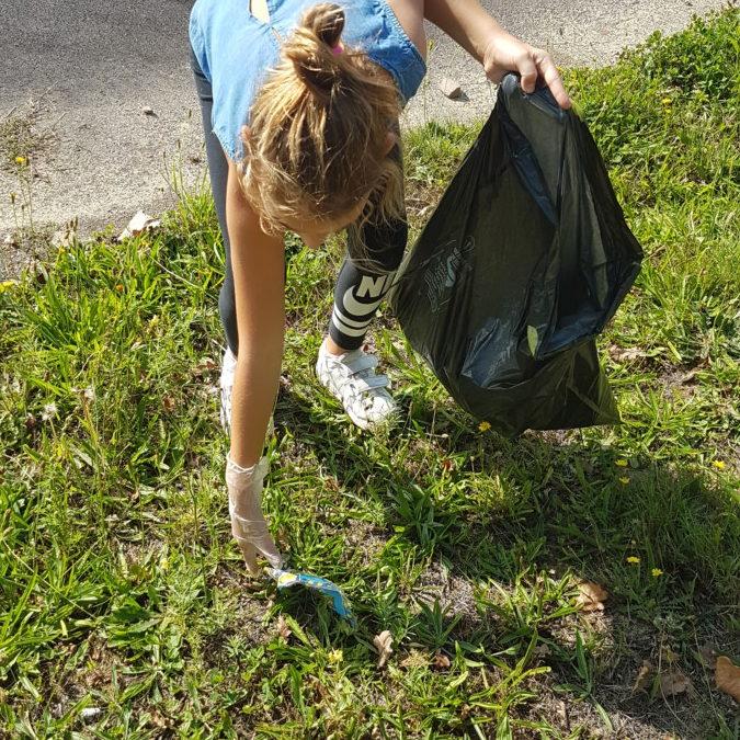 Initiative des CM sur le ramassage des déchets